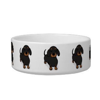 Kawaii Cute Little Puppy Dog. Dachshund! Bowl