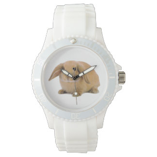 Kawaii Cute Lop Bunny Rabbit Wrist Watches