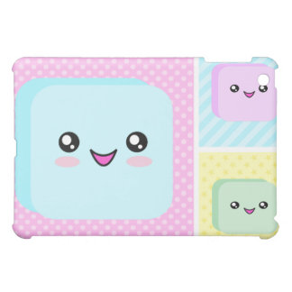 Kawaii Cute Mochi Cakes Cover For The iPad Mini