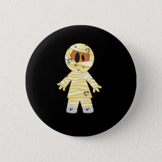 Kawaii Cute Mummy Halloween 6 Cm Round Badge