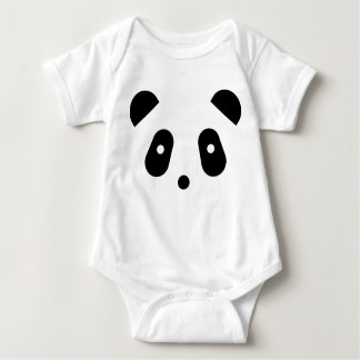 Kawaii ~ Cute Panda Face Baby Bodysuit