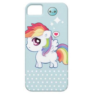 Kawaii cute rainbow pony iPhone 5 case
