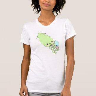 kawaii cute squid shirt