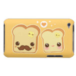 Kawaii cute toasts couple iPod touch Case-Mate case