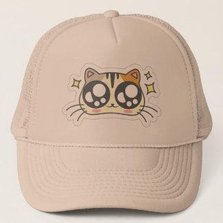 Kawaii Cute Twinkle Eyed Little Kitty Kitten Cat. Trucker Hat
