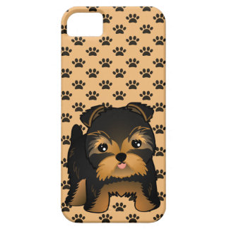 Kawaii Cute Yorkshire Terrier Puppy Dog iPhone 5 Cases