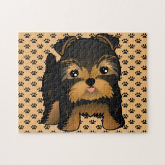 Kawaii Cute Yorkshire Terrier Puppy Dog Puzzles