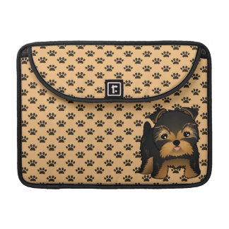 Kawaii Cute Yorkshire Terrier Puppy Dog Sleeve For MacBook Pro