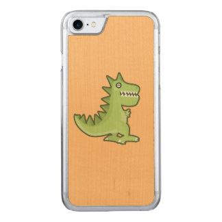 Kawaii Dinosaur Carved iPhone 8/7 Case