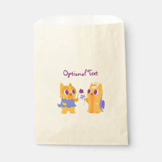 Kawaii Dog Best Friend or Puppy Love Yorkies Favour Bags