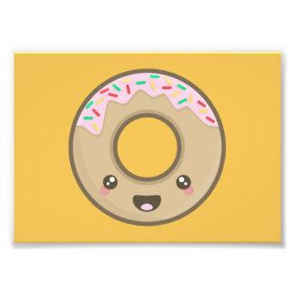 Kawaii donut art photo