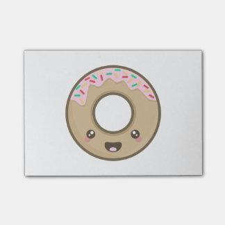 Kawaii donut post-it notes