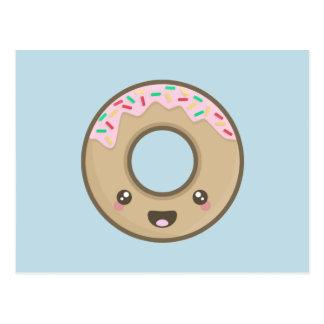 Kawaii Donut Postcard
