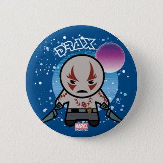 Kawaii Drax In Space 6 Cm Round Badge