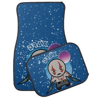 Kawaii Drax In Space Car Mat