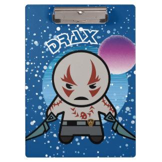 Kawaii Drax In Space Clipboard