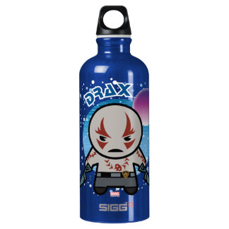 Kawaii Drax In Space Water Bottle