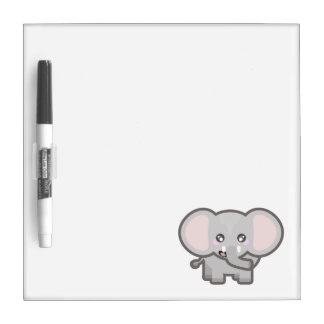 Kawaii elephant Dry-Erase boards