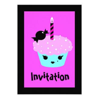 Kawaii Emo Invitation