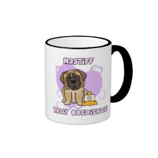 Kawaii English Mastiff Rally Obedience Coffee Mug