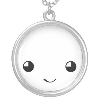 Kawaii face necklace