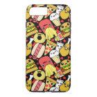 Kawaii Fast Food Pattern iPhone 8 Plus/7 Plus Case