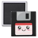 Kawaii Floppy Disc Square Magnet