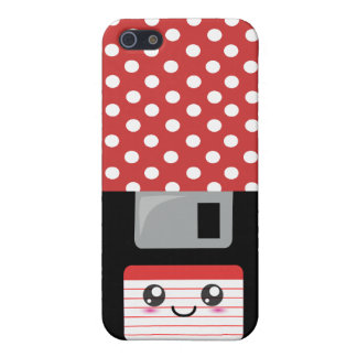 Kawaii Floppy Disk iPhone 5 Cover