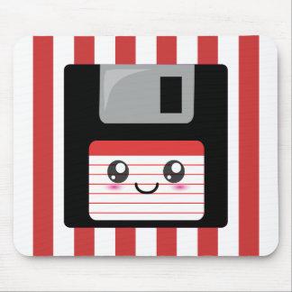 Kawaii Floppy Disk Mouse Pad