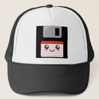 Kawaii Floppy Disk Trucker Hat
