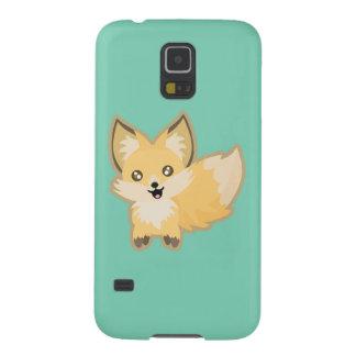 Kawaii Fox Galaxy S5 Cover