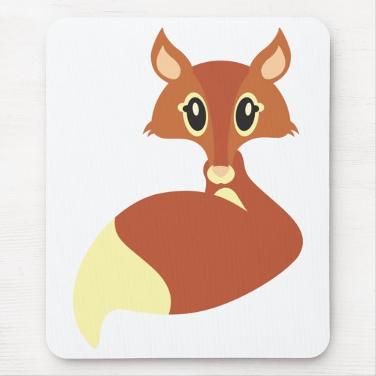 Kawaii Fox Mouse Mat