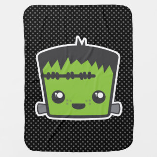 Kawaii Frankenstein Baby Blanket