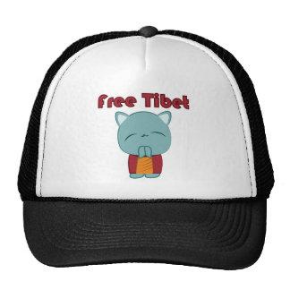 Kawaii Free Tibet Kitty hat