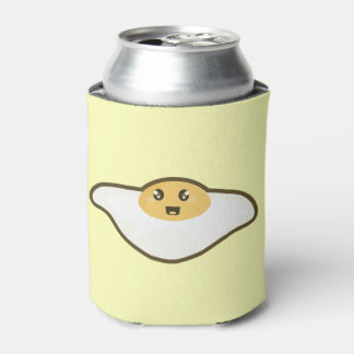 Kawaii Fried egg Can Cooler