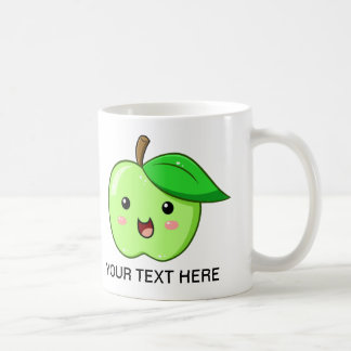 Kawaii Fruit Green Apple Mug