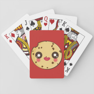 Kawaii fun and funny cookie playing cards
