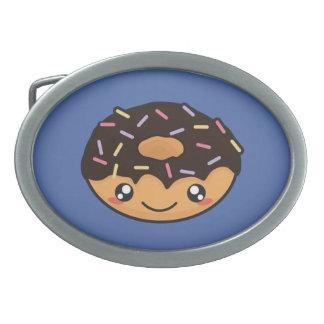 Kawaii, fun and funny donut belt buckle