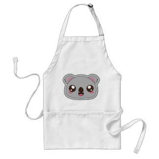 Kawaii, fun and funny koala apron