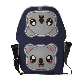 Kawaii, fun and funny koala bag messenger bags
