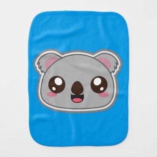 Kawaii, fun and funny koala burpl cloth