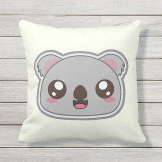 Kawaii, fun and funny koala pillow