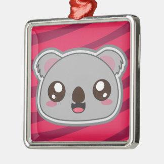 Kawaii, fun, funny and cool koala ornamnet christmas ornament