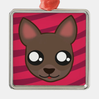 Kawaii funny chihuahua ornament