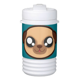 Kawaii funny dog beverage cooler