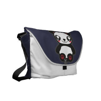 Kawaii funny panda bag messenger bags