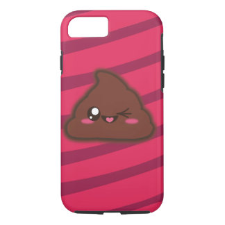 Kawaii funny poop case for iphone7