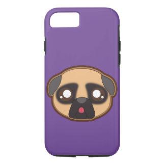Kawaii funny pug case