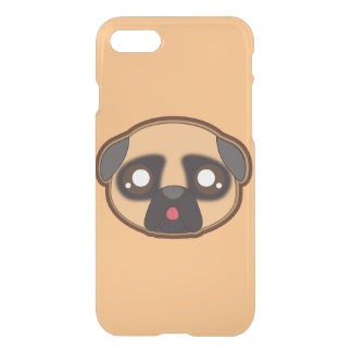 Kawaii funny pug case for the apple iphone