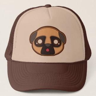 Kawaii funny pug hat